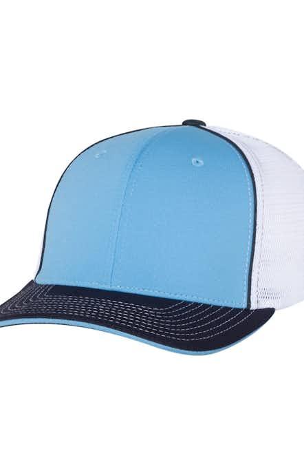 Richardson 172 Columbia Blue/ White/ Navy Tri