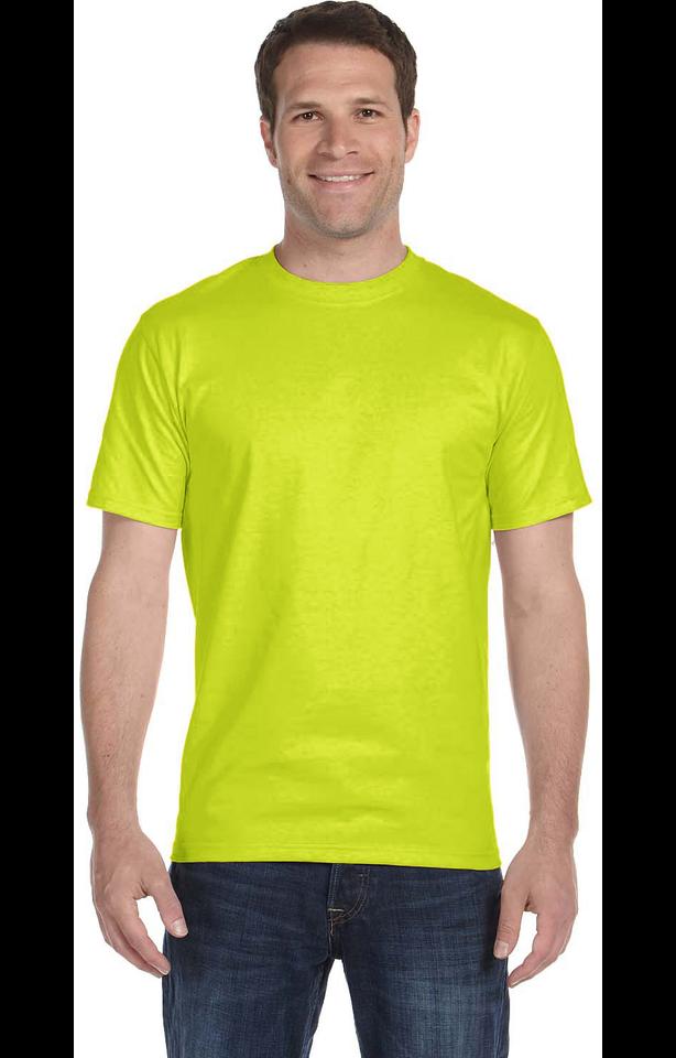 Gildan G800 Safety Green