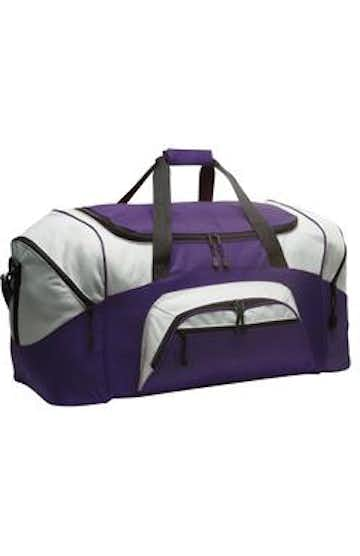 Port Authority BG99 Purple / Gray
