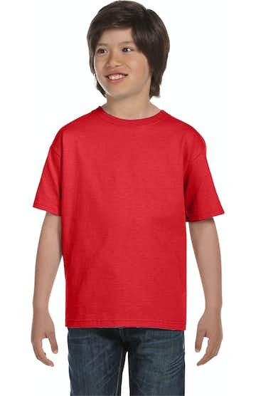 Hanes 5480 Athletic Red