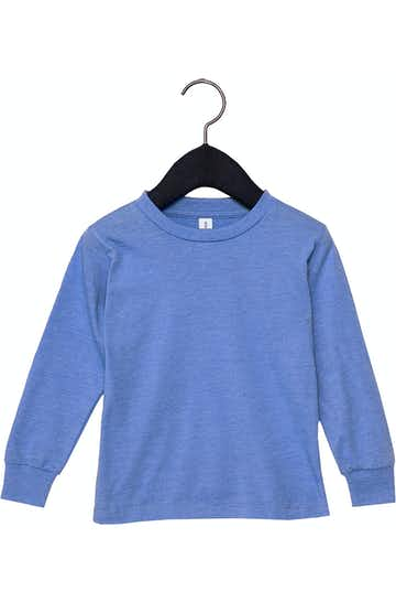 Bella + Canvas 3501T Heather Colum Blue