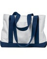 Liberty Bags 7002 White/Navy