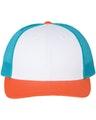 Richardson 115J1 White/ Blue Hawaiin/ Pale Orange