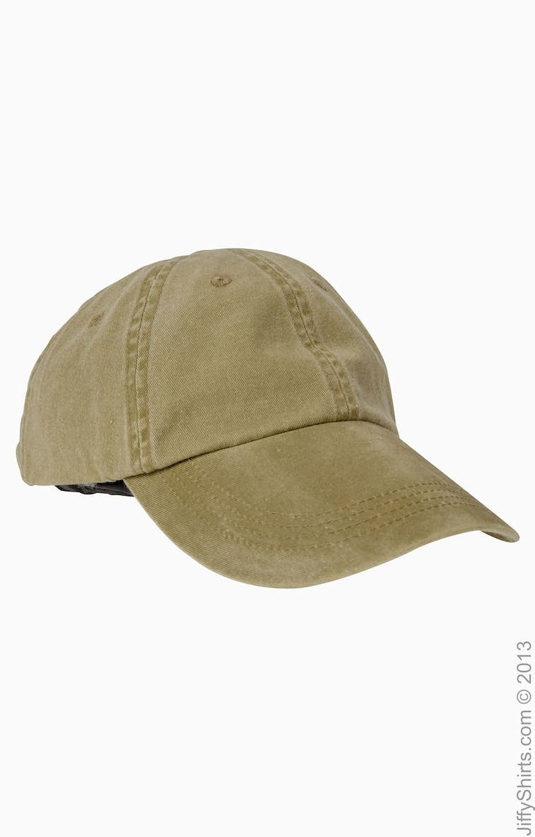 90e4649103b52 Anvil 145 Adult Solid Low-Profile Pigment-Dyed Cap - JiffyShirts.com