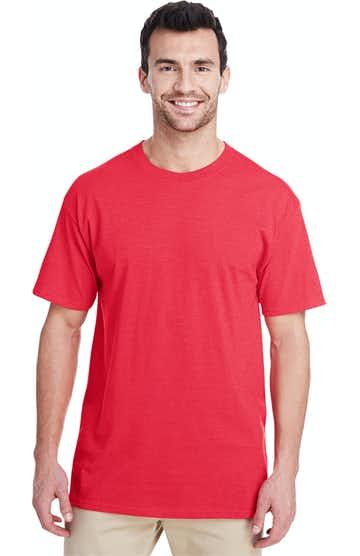 Jerzees 460R Fiery Red Hthr