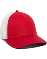 Outdoor Cap RGR-360M Red / White