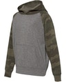 Independent Trading PRM15YSB Nickel Heather / Forest Camo