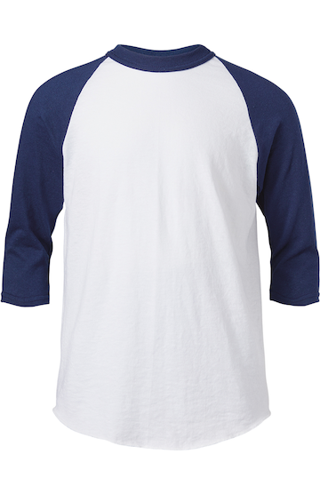 Soffe B209 WHITE/NAVY