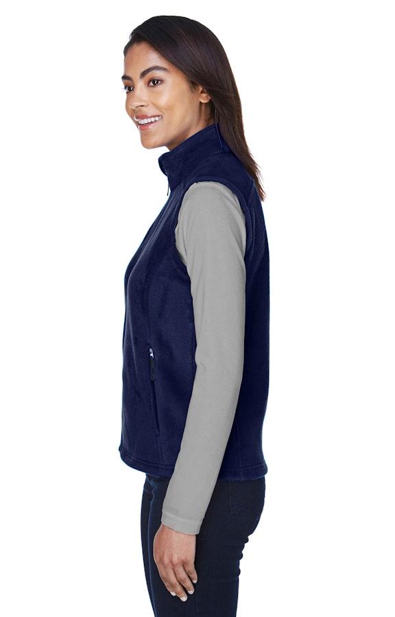 41b19de20 Ash City - Core 365 78191 Classic Navy Ladies' Journey Fleece Vest