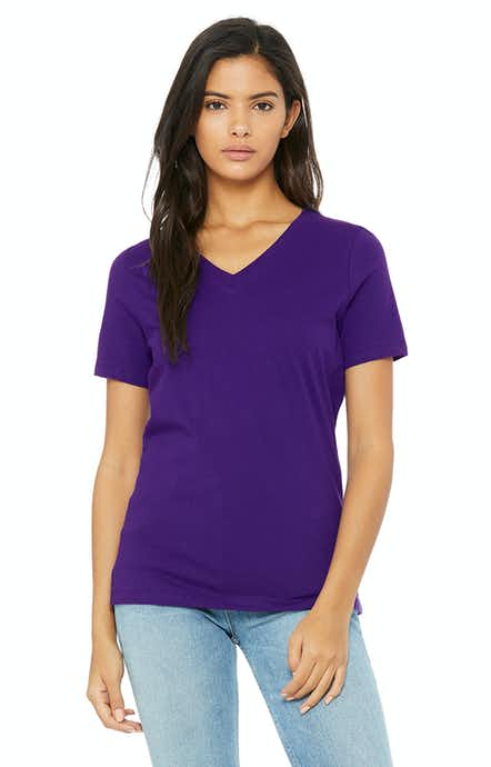 Bella + Canvas 6405 Team Purple