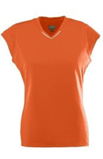 Augusta Sportswear 1204 Orange/White