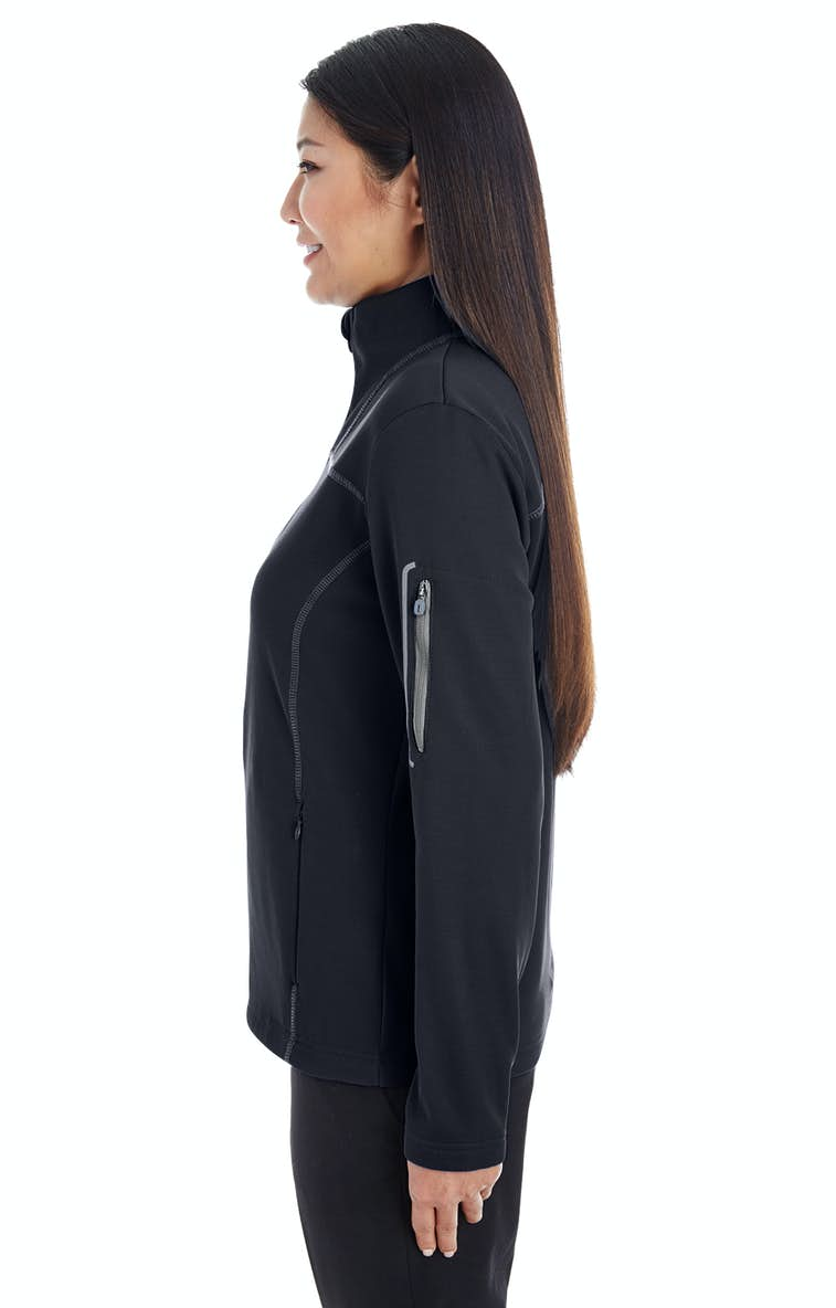 the latest 1df92 c44ea Ash City - North End NE703W Ladies  Endeavor Interactive Performance Fleece  Jacket - JiffyShirts.com