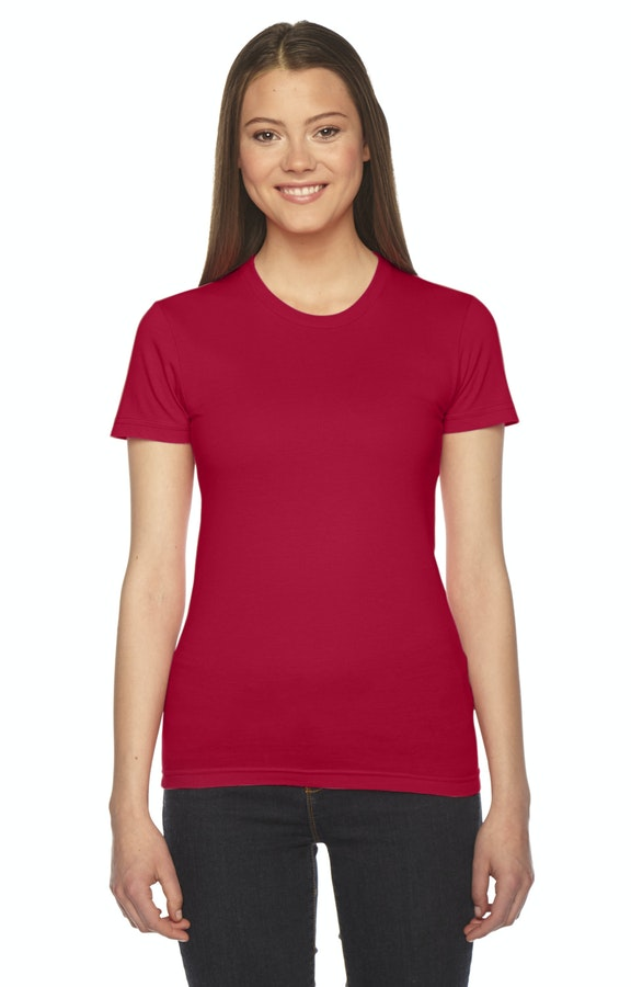 American Apparel 2102 Red