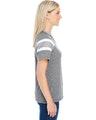 Augusta Sportswear 3011 Slt/ Ath Hth/ Wh