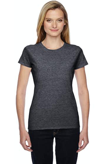 Fruit of the Loom SSFJR Charcoal Heather