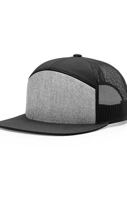 Richardson 168 Heather Grey/ Black