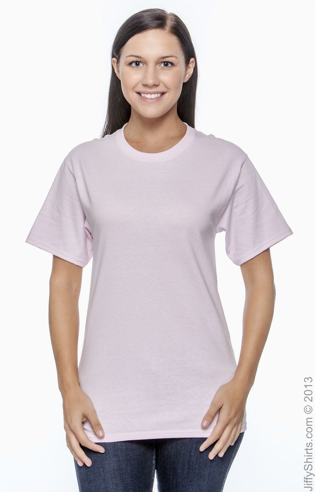 Hanes 5250T Pale Pink