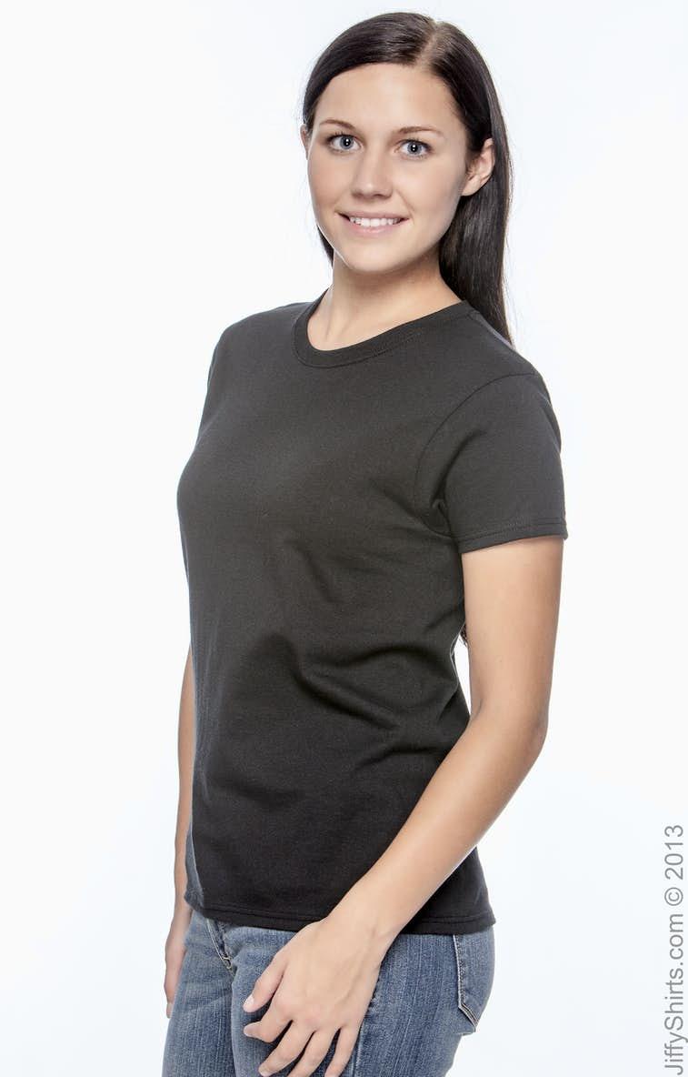 Gildan G200l Ladies Ultra Cotton 6 Oz T Shirt Cardinal Girl Navy Xl