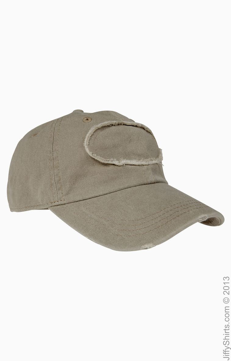 Authentic Pigment 1917 Pigment-Dyed Raw-Edge Patch Baseball Cap 433eab189b50