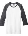 District DT6210 Heather Charcoal / White
