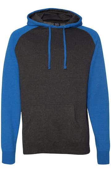 Independent Trading IND40RPJ1 Charcoal Heather / Royal Heather