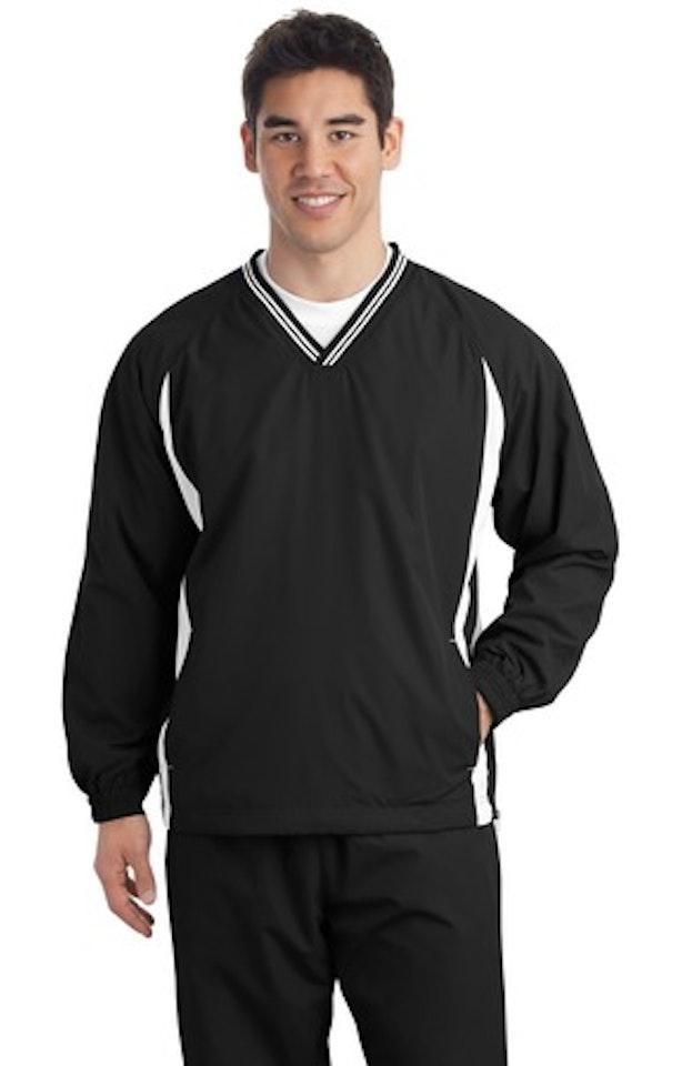 Sport-Tek TJST62 Black / White