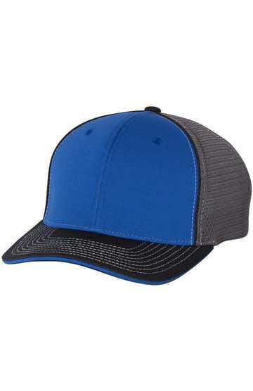 Richardson 172 Royal/ Charcoal/ Black Tri