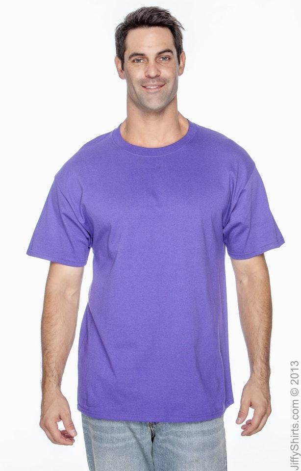 Hanes 5250T Purple