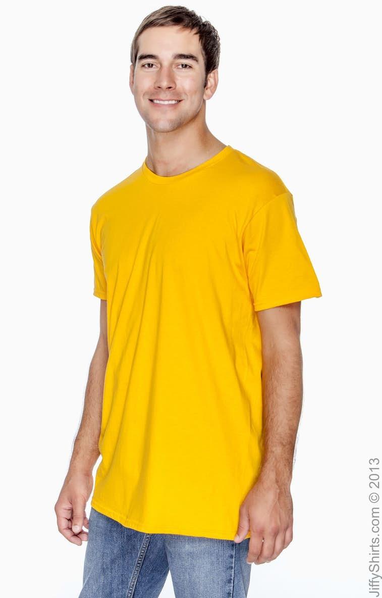 6610cd7d Hanes 4980 Adult 4.5 oz., 100% Ringspun Cotton nano-T® T-Shirt -  JiffyShirts.com