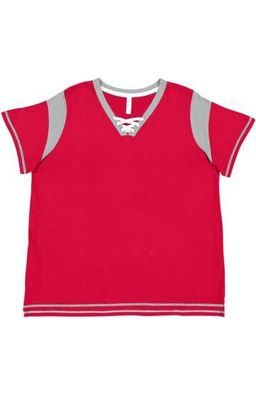 LAT (SO) 3833 Red / Titanium / White