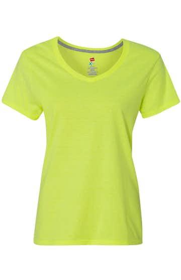 Hanes 42V0 Neon Lemon Heather