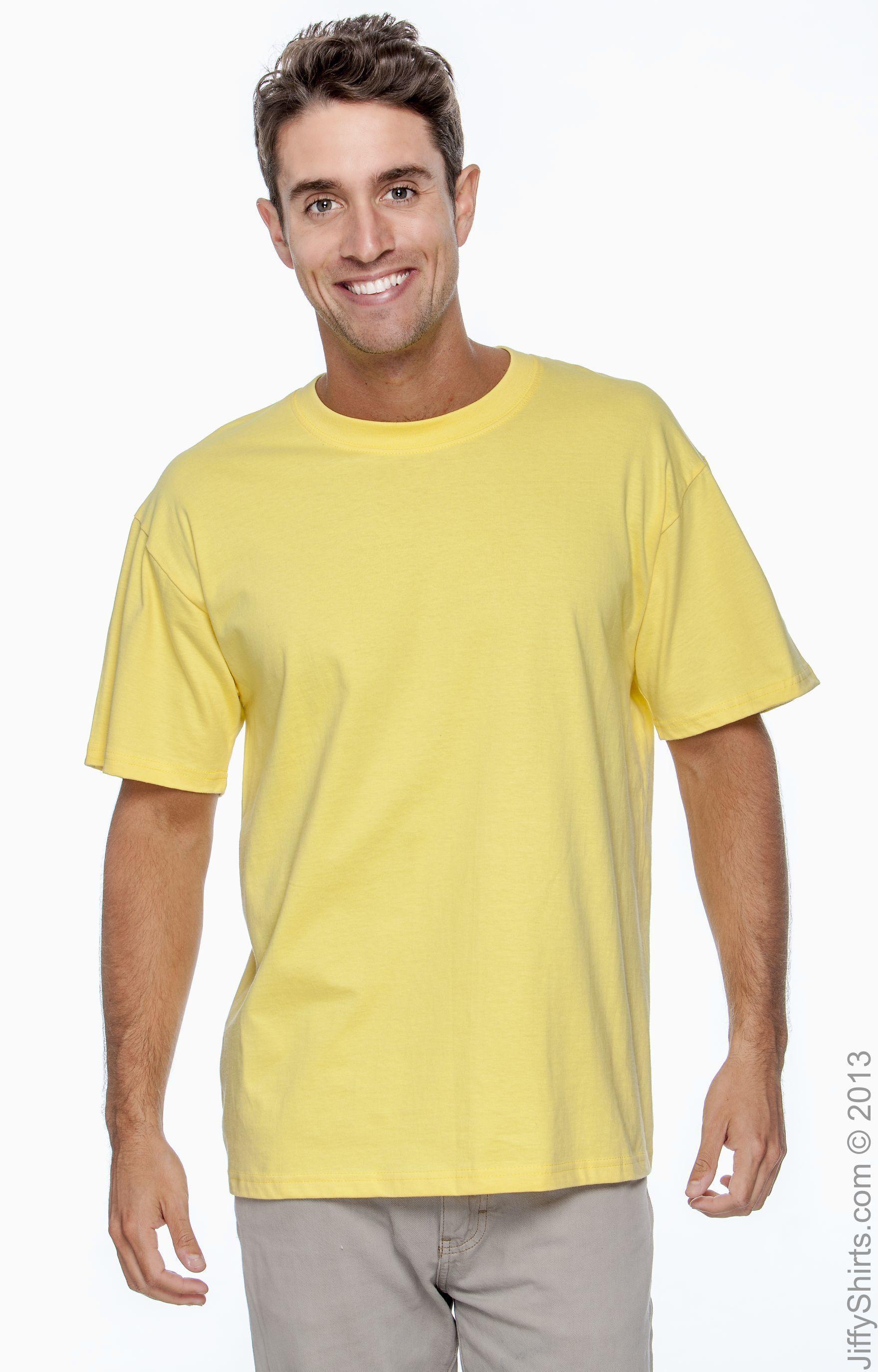 XXXL Hanes Plain BROWN Organic Cotton Tee T-Shirt S
