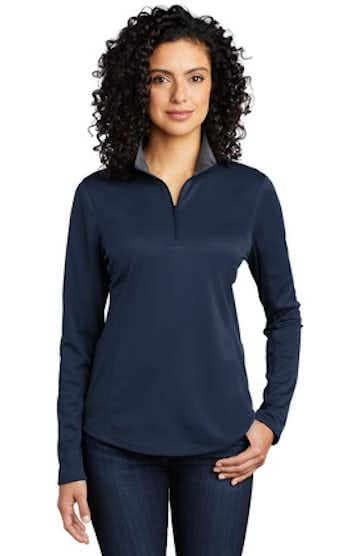 Port Authority LK584 Navy / Steel Gray