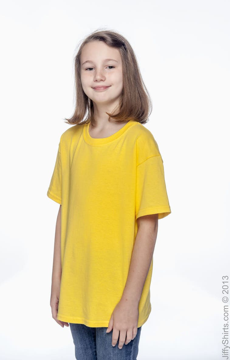 722d98b8b33 Gildan G500B Youth Heavy Cotton™ 5.3 oz. T-Shirt - JiffyShirts.com