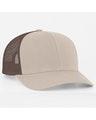Pacific Headwear 0104PH Khaki/Brown