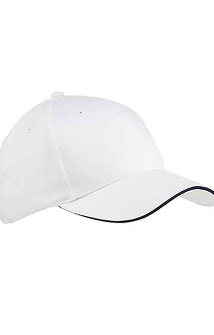 Big Accessories BX004 White/Navy