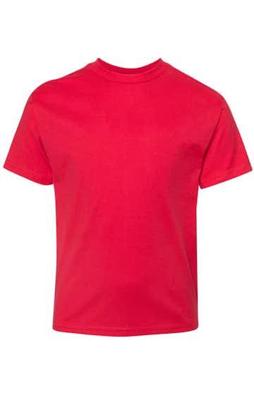Hanes 498Y Athletic Red