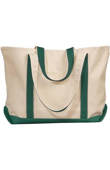 Liberty Bags 8872 Natural/Forest
