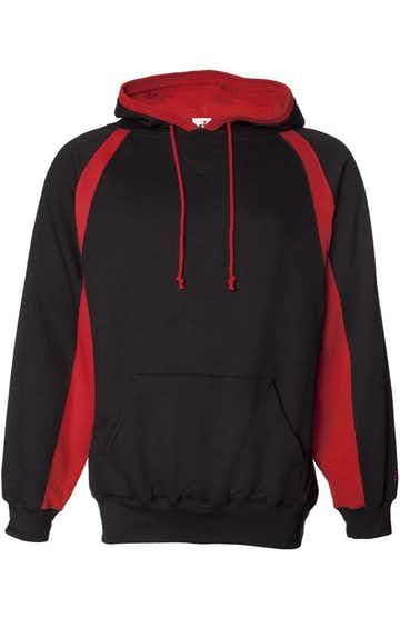 Badger 1262 Black / Red
