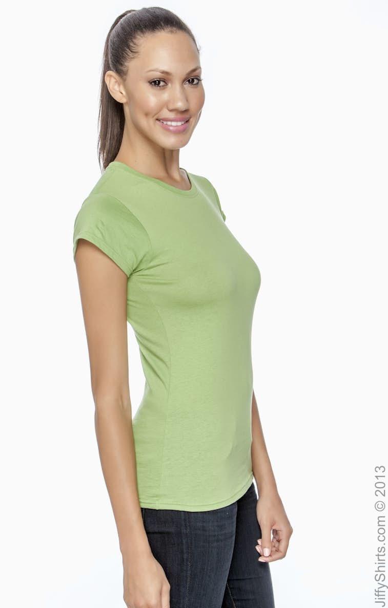 578930f3 Gildan G640L Ladies' Softstyle® 4.5 oz. Fitted T-Shirt - JiffyShirts.com