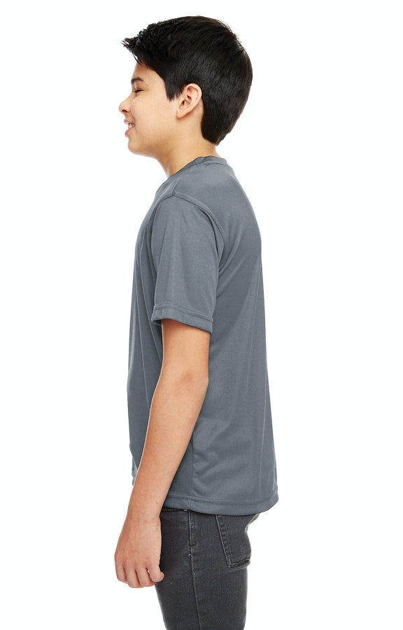 d599aa35 UltraClub 8620Y Youth Cool & Dry Basic Performance T-Shirt ...