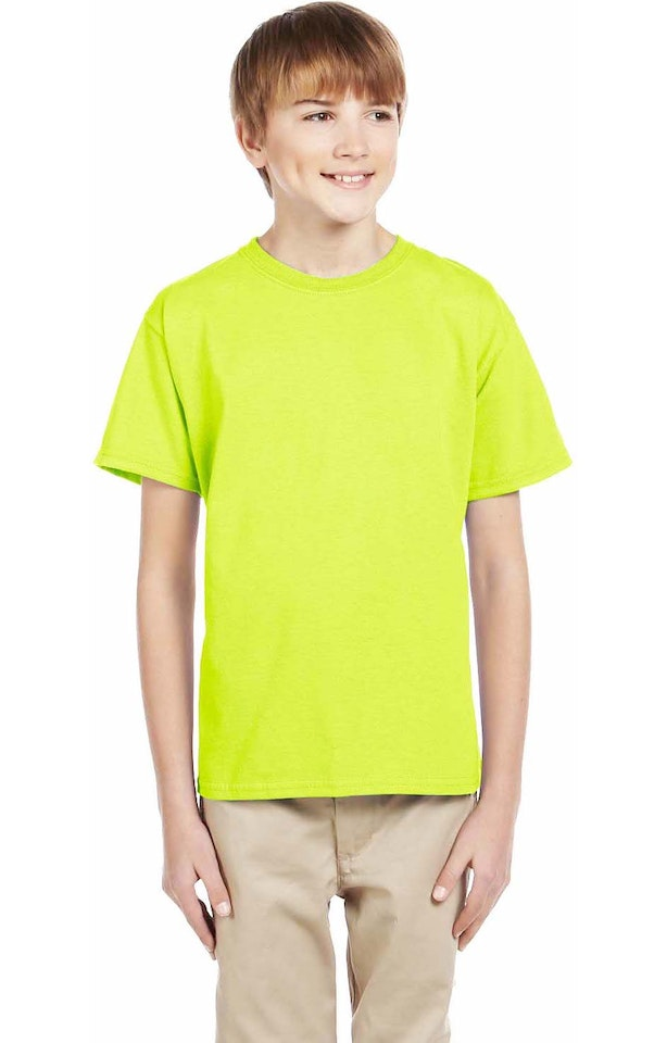 Fruit of the Loom 3931B Safety Green