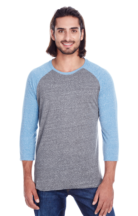 Threadfast Apparel 302G Grey/ Royal Trib