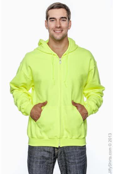 Gildan G126 High Viz Safety Green