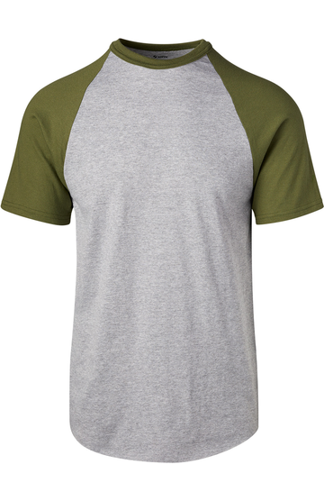 Soffe 208M ATHLETIC OXFORD OD GREEN