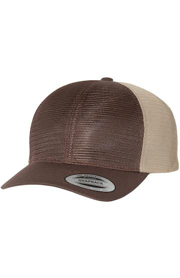 Yupoong 6360J1 Brown/ Khaki