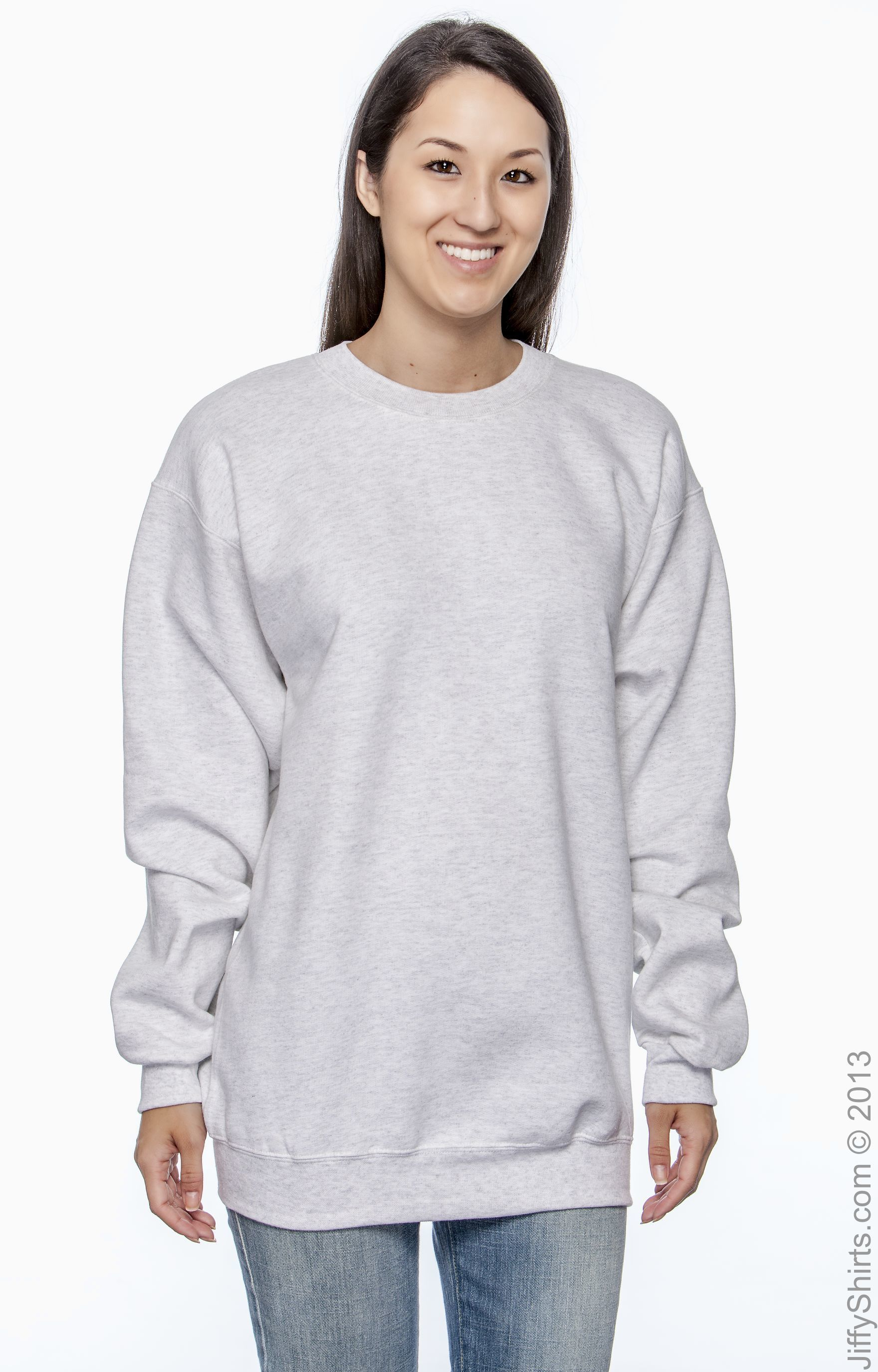 Hanes Ultimate Cotton Crewneck Adult Sweatshirt Size M,L,XL