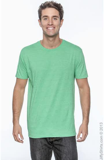 Gildan G640 Heather Irish Green