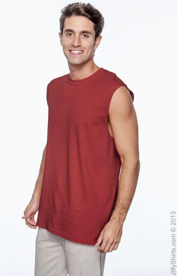 9394e9662feb Gildan G270 Adult Ultra Cotton® 6 oz. Sleeveless T-Shirt - JiffyShirts.com