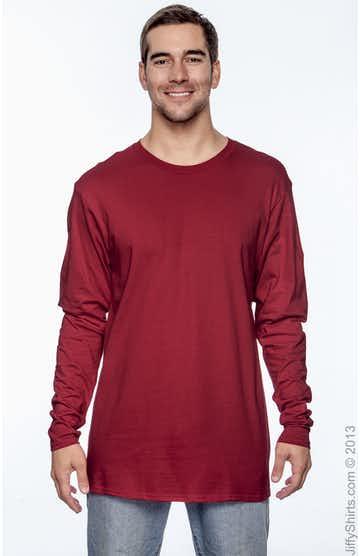 Hanes 498L Deep Red